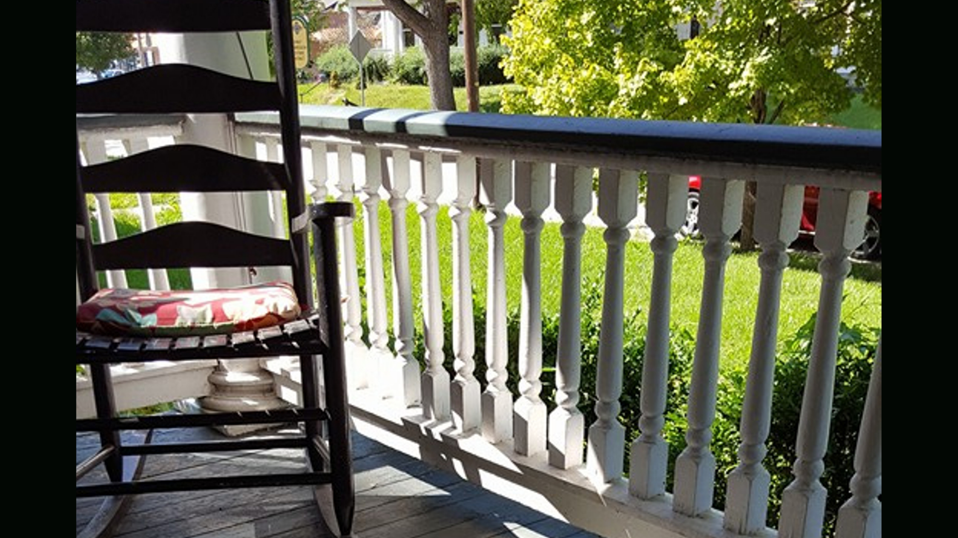 How My Porch (and my Neighbors) Changed Me
